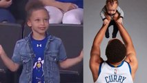 Riley Curry Shows Off Viral Dance Moves & Steph Curry Savagely Roasts Himself on IG