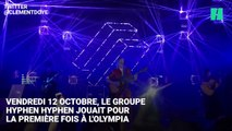 La chanteuse du groupe Hyphen Hyphen bourrée à l'Olympia
