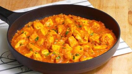 Pollo al curry con leche de coco ¡Listo en 20 minutos! - Que Viva La Cocina