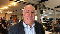 Jacques Hortala, président du Sdis de l'Aude fait le point sur les opérations de secours