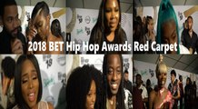 HHV Exclusive: 2018 BET Hip Hop Awards red carpet interviews