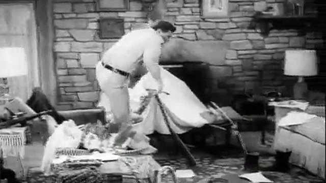 Andy Griffith S01E23 Andy and Opie Housekeepers