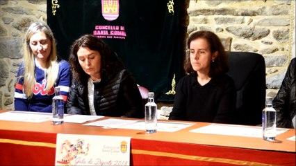 Presentación Gala Deporte Santa Comba 2018