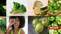 Alimentos verdes muy saludables