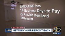 When can a landlord keep your deposit? Here's how to get your deposit back