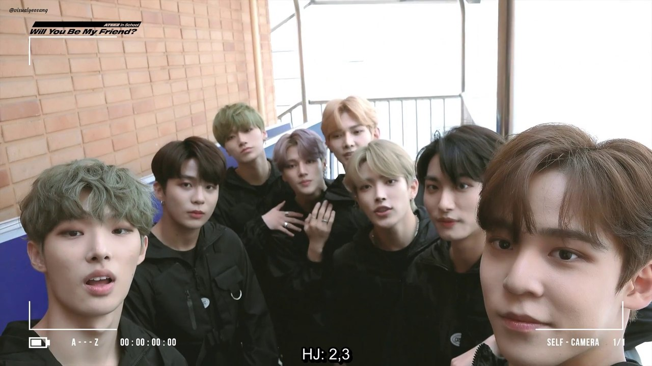 Eng Sub Ateez In School Behind Clip