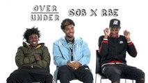 SOB X RBE Rate Cuddling, Miss Piggy, and Boo Tattoos