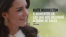 Kate Middleton 6 momentos en los que nos recordo a Diana de Gales