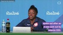 Simone Biles Blasts USAG CEO After Anti-Nike Tweet