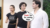 Arbaaz Khan & Malaika Arora Back Together After Divorce For Son Arhaan Khan @New Gym launch