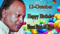 13th Oct Nusrat Fateh Ali Khan Birthday