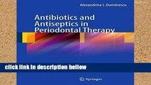 Popular Antibiotics and Antiseptics in Periodontal Therapy