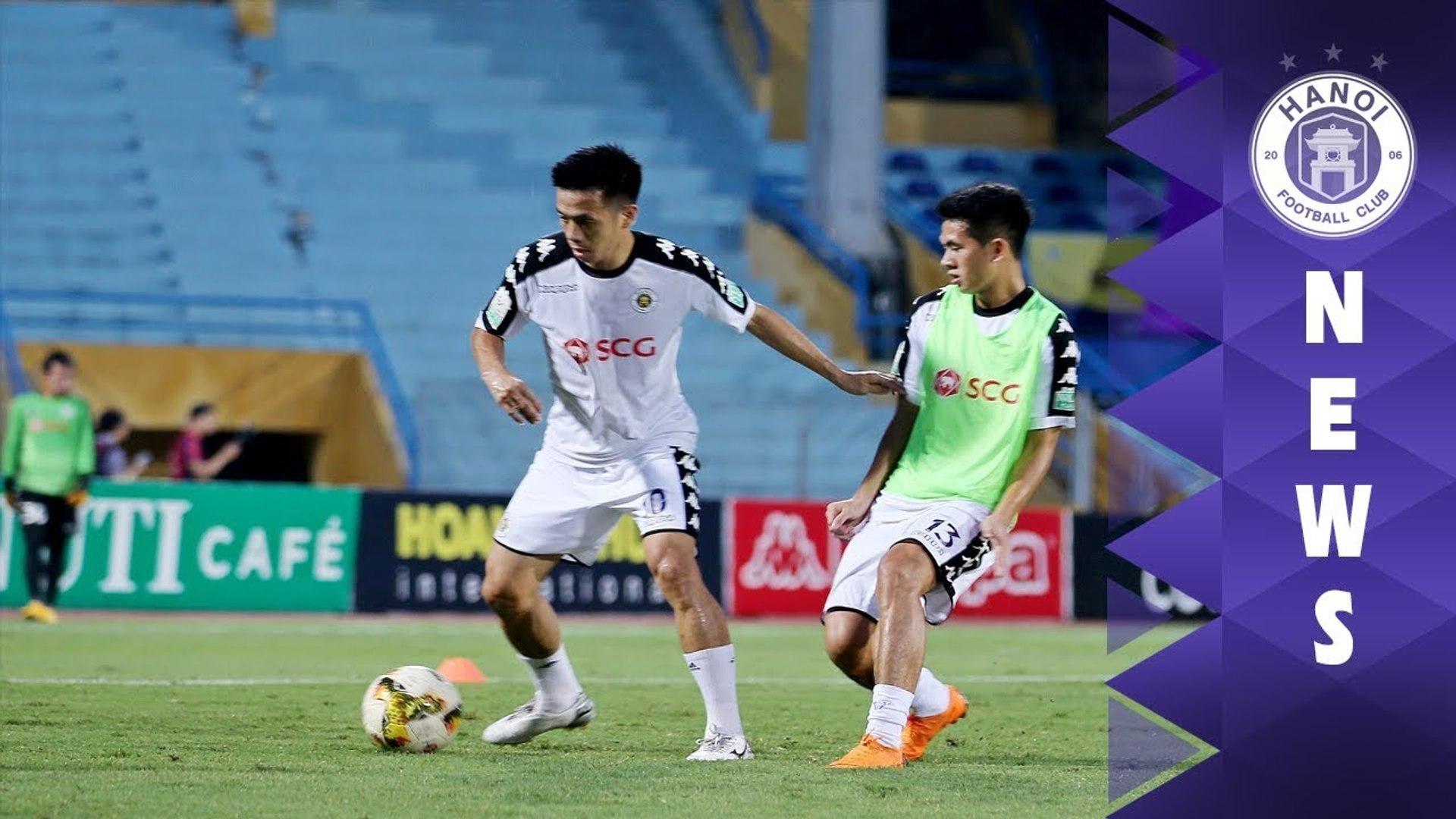 Trực tiếp | Không khí trước trận bán kết Lượt đi Cúp Quốc gia | Hà Nội vs Bình Dương | HANOI FC