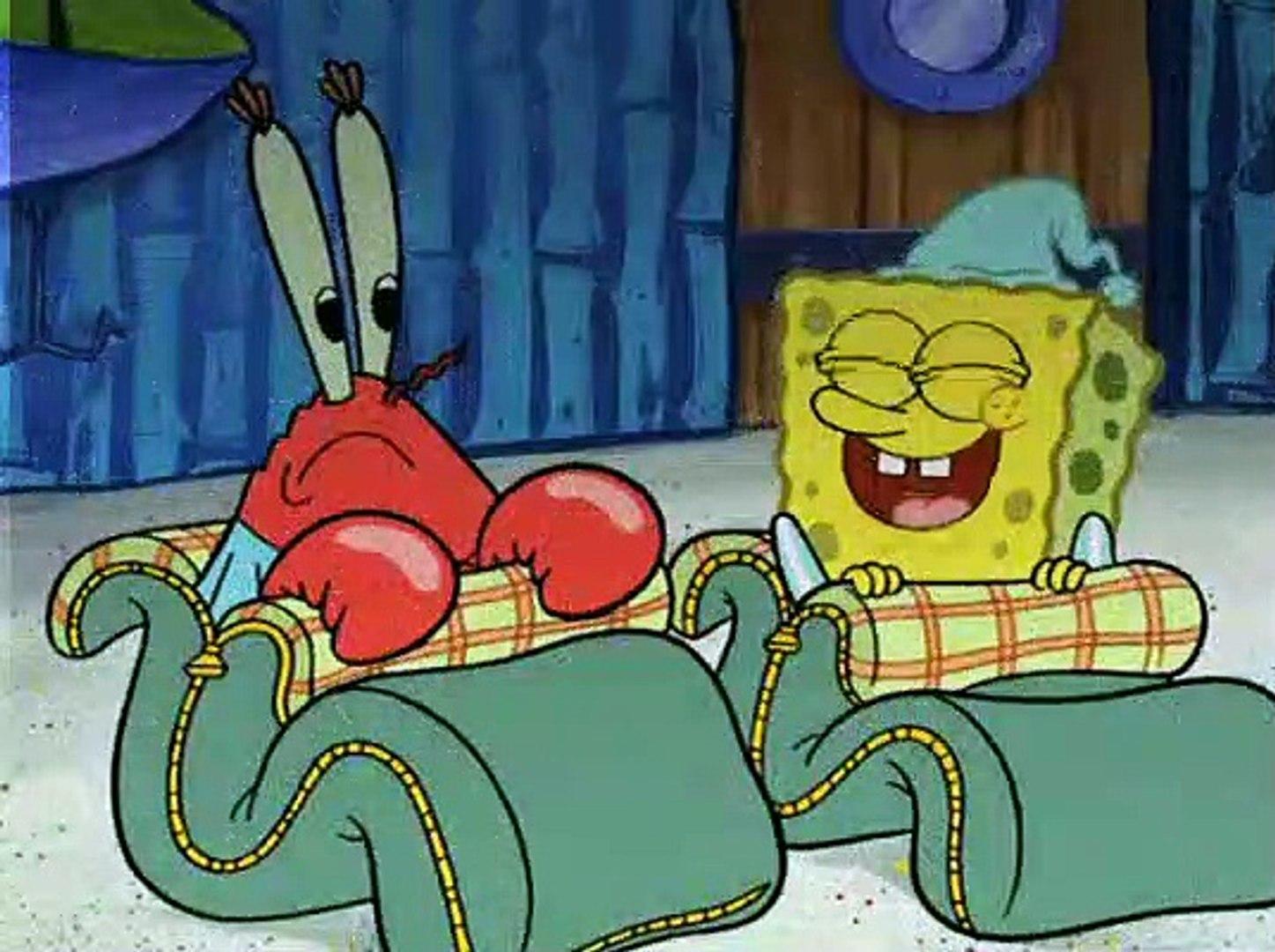 Spongebob Squarepants S06e18 The Slumber Party Video Dailymotion