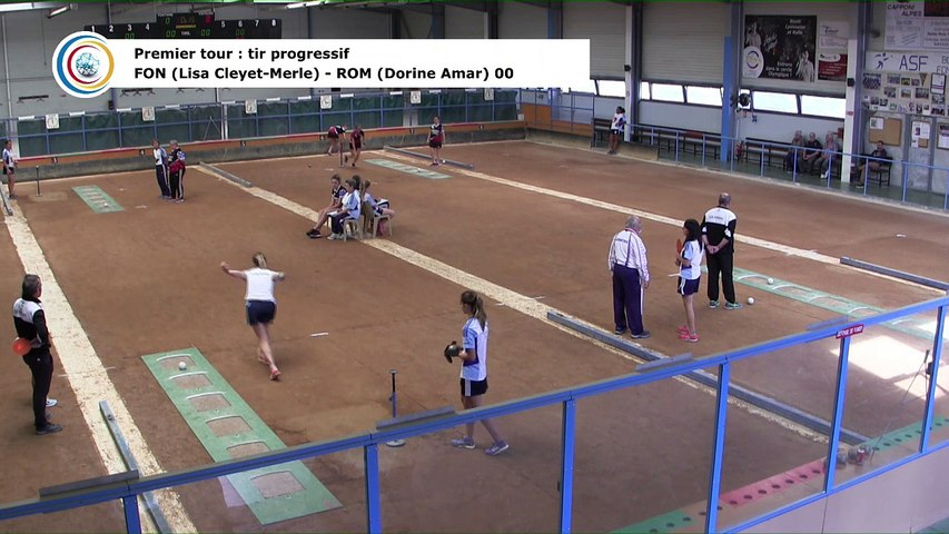 Premier tour, tir progressif, France Club Elite 1 F, J1, Fontaine contre Romans, saison 2018/2019
