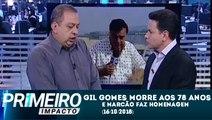 Primeiro Impacto (9h) (16/10/2018) - Gil Gomes morre aos 78 anos e é homenageado por Marcão do Povo | SBT