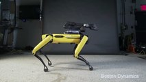 Un robot de Boston Dynamics Danse