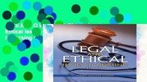 F.R.E.E [D.O.W.N.L.O.A.D] Legal and Ethical Issues in Nursing (Legal Issues in Nursing ( Guido))