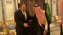 Mike Pompeo Meets Saudi King Salman Over Jamal Khashoggi's Alleged Murder