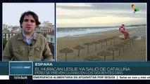 Tormenta Leslie sale de Cataluña sin dejar víctimas mortales