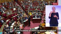"""Les sénateurs LR quittent l'hémicycle choqués par """"la désinvolture"""" de Christophe Castaner"""""""