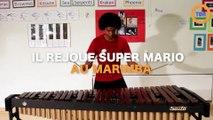 "Il rejoue la musique de ""Super Mario"" au marimba !"