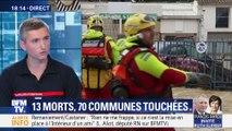 Inondations dans l'Aude: Treize morts, 70 communes touchées