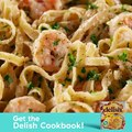 Shrimp Fettuccine Alfredo is the ULTIMATE comfort food.Full recipe: