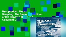 Best product  The Art of Sampling: The Sampling Tradition of Hip Hop/Rap Music and Copyright Law