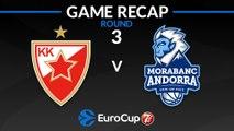 Highlights: Crvena Zvezda mts Belgrade - MoraBanc Andorra