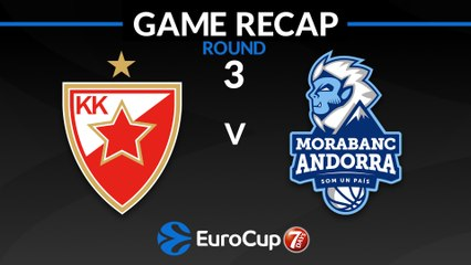 7Days EuroCup Highlights Regular Season, Round 3: Zvezda 85-79 Andorra