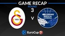 Highlights: Galatasaray Istanbul - Germani Brescia Leonessa