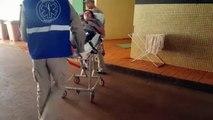 Mulher sofre queda na Rua Maranhão