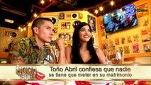 Toño Abril explota en sus redes sociales tras comentarios que se han dado de su ruptura amorosa