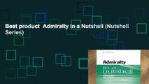 Best product  Admiralty in a Nutshell (Nutshell Series)