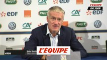 Deschamps «Il y a eu réaction» - Foot - L. Nations - Bleus