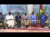 RTB/Audience du Ministre du Burkina Faso avec les ministres de la défense, de la sécurité et des affaires étrangères du Burkina Faso, du Benin, du Niger et du Togo