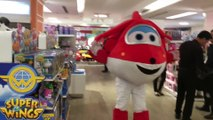 Super Wings Live Mascot Meet & Greet Event Jett || Keith's Toy Box