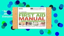 Library  Acep First Aid Manual 5th Edition: The Step-By-Step Guide for Everyone (Dk First Aid