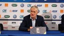 Bleus - Deschamps : ''On a fait un bon pas en avant''