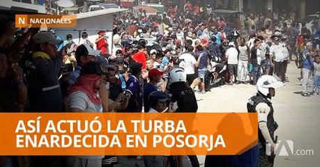 Violencia y caos en Posorja deja tres personas fallecidas