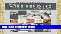 Library  Manual of Wire Bending Techniques
