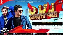 O Lal Dupatte Wali  Official Teaser  Sid Khambra  Ft. Pace D Rapper  Akshraat Films  Hindi Song