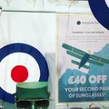 It's the Air Show  #BattleofBritain We are celebrating our love for the humble Ray-Ban Aviator sunglasses and Sunglass Hut are offering £40 off your second pai