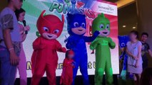 PJ Masks Meet and Greet Live Event Catboy Gekko Owlette Mascots || Keith's Toy Box