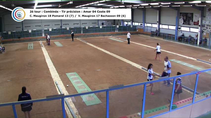 Second tour, second tir de précision, France Club Elite 1 F, J1, Fontaine contre Romans, saison 2018/2019