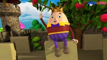 Humpty Dumpty Sat on a Wall Nursery Rhymes with Action | 3D Animation English Nursery Rhymes Songs for Children with Lyrics by HD Nursery Rhymes