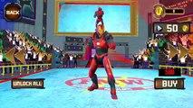 Superhero Wrestling Battle Arena Ring Fighting