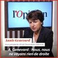 Un remaniement équilibré? «Nous ne voyons rien de droite dans ce gouvernement !», affirme Annie Genevard