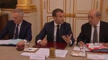 """Conseil des ministres: Emmanuel Macron prévient """"nous aurons à porter des réformes extrêmement ambitieuses"""""""